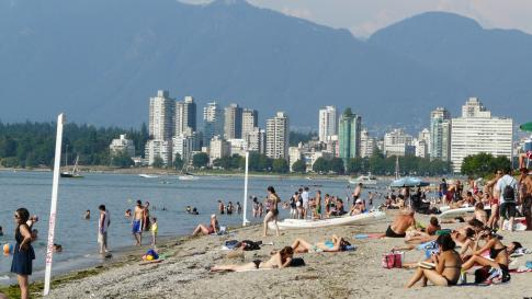 Vancouver plage